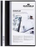 Durable Angebotshefter DURAPLUS®, strapazierfähige Folie, A4+, schwarz Schnellhefter schwarz