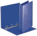 Esselte Ringbuch Präsentation, mit Taschen, A4, PP, 4 Ringe, 30 mm, blau Präsentationsringbuch A4