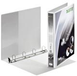 Leitz 4201 Ringbuch SoftClick, A4, mit Taschen, 4 Ringe, 25 mm, weiß Präsentationsringbuch A4 4