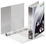 Leitz 4202 Ringbuch SoftClick, A4, mit Taschen, 4 Ringe, 30 mm, weiß Präsentationsringbuch A4 4