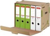 Esselte Archiv Container ECO, für Ordner, Karton, naturbraun Archivregal braun 427 x 343 x 305 mm