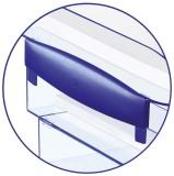Cep Distanzhalter - blau, 2 Stück nur für Briefkörbe Modell Ice Blue Distanzstück blau 2 Stück