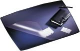 Durable Schreibunterlage ARTWORK, PVC, 650 x 520 mm, dunkelblau Schreibunterlage 65 x 52 cm PVC