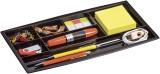 Cep Schubladeneinsatz - 7 Fächer, schwarz Schubladeneinsatz schwarz 344 mm 20 mm 168 mm