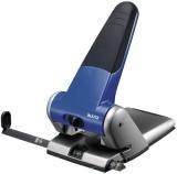 Leitz 5180 Registraturlocher bis A3, 6,5 mm, mit Anschlagschiene, blau Kraftlocher 63 Blatt blau