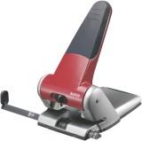 Leitz 5180 Registraturlocher bis A3, 6,5 mm, mit Anschlagschiene, rot Kraftlocher 63 Blatt rot