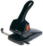 Rapid® Registraturlocher HDC65, Gussmetall, 65 Blatt, schwarz Kraftlocher 65 Blatt schwarz