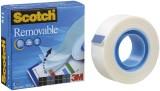 Scotch® Klebeband Magic 811, Zellulose Acetat, unsichtbar, wieder ablösbar, 33 m x 19 mm Klebeband