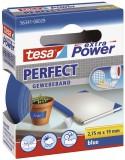 tesa® Gewebeklebeband extra Power Gewebeband, 2,75 m x 19 mm, blau Gewebeband 19 mm x 2,75 m blau