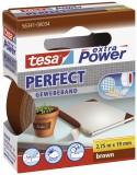tesa® Gewebeklebeband extra Power Gewebeband, 2,75 m x 19 mm, braun Gewebeband 19 mm x 2,75 m braun