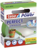 tesa® Gewebeklebeband extra Power Gewebeband, 2,75 m x 19 mm, grün Gewebeband 19 mm x 2,75 m grün