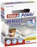 tesa® Gewebeklebeband extra Power Gewebeband, 2,75 m x 19 mm, weiß Gewebeband 19 mm x 2,75 m weiß