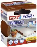 tesa® Gewebeklebeband extra Power Gewebeband, 2,75 m x 38 mm, braun Gewebeband 38 mm x 2,75 m braun