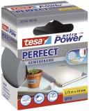 tesa® Gewebeklebeband extra Power Gewebeband, 2,75 m x 38 mm, grau Gewebeband 38 mm x 2,75 m grau