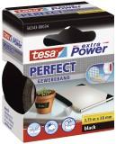 tesa® Gewebeklebeband extra Power Gewebeband, 2,75 m x 38 mm, schwarz Gewebeband 38 mm x 2,75 m