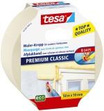 tesa® Papier-Klebeband Maler-Krepp Classic, 50 m x 50 mm, beige Kreppband 50 mm 50 m