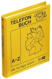Veloflex® Telefonringbuch - A5, gelb, inkl. Einlagen und 12-teiliges Register A-Z Telefonringbuch