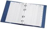 Veloflex® Ersatzeinlagen - 25 Blatt ohne Register Telefonringbuch weiß Ersatzeinlagen 25 Blatt