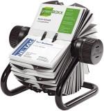 Durable VISIFIX® Rollkartei, inkl. 200 Hüllen und 25tlg. Register, für 400 Visitenkarten 104 x 72 mm