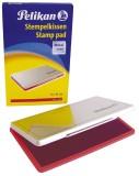 Pelikan® Stempelkissen 1, getränkt, 160 x 90 mm, rot Stempelkissen rot Größe 1 160 mm 90 mm