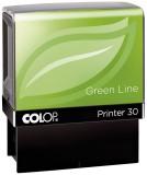 COLOP® Printer 30 Green Line - max . 5 Zeilen, 18 x 47 mm mit Gutschein Textstempel Selbstfärber