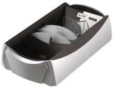 HAN Visitenkartenbox VIP-Set Silber Edition - für 500 Visitenkarten, Box+Etui, silber-schwarz