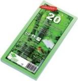 Envirelope® Briefumschlag Envirelope, DIN lang, haftklebend, 75 g/qm, mit Fenster, 20 Stück DL