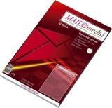 MAILmedia® Versandtaschen C4 , mit Fenster, haftklebend, 90 g/qm, weiß, 10 Stück C4 weiß 90 g/qm