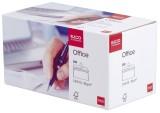 Elco Briefumschlag Office in Shop Box - C5/6 DL, hochweiß, haftklebend, ohne Fenster, 80 g/qm, 200 Stück