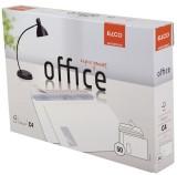 Elco Briefumschlag Office in Shop Box - C4, hochweiß, haftklebend, mit Fenster, 120 g/qm, 50 Stück