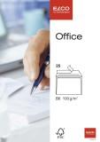 Elco Briefumschlag Office - B6, hochweiß, haftklebend, ohne Fenster, 100 g/qm, 25 Stück B6 weiß