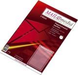 MAILmedia® Papprückwandtaschen C4, mit Fenster, 120 g/qm, weiß, 5 Stück Papprückwandtasche C4