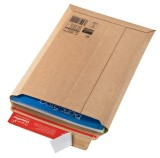 ColomPac® Versandtaschen Wellpappe 340x500x50 mm (A3), braun Versandtasche Wellpappe A3 braun