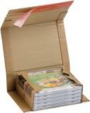ColomPac® Klassische Versandverpackung zum Wickeln 147x126x55 mm (für CDs), braun Versandkarton