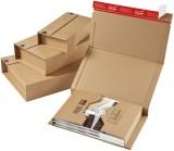 ColomPac® Klassische Versandverpackung zum Wickeln 217x155x60 mm (A5), braun Versandkarton A5 braun