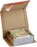 ColomPac® Klassische Versandverpackung zum Wickeln 325x250x80 mm (C4), braun Versandkarton C4 braun