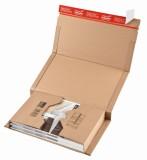 ColomPac® Klassische Versandverpackung zum Wickeln 330x270x80 mm (C4+), braun C4+ 330 x 270 x 80 mm