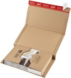 ColomPac® Klassische Versandverpackung zum Wickeln 455x320x70 mm (A3), braun Versandkarton A3 braun