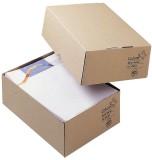 ColomPac® Aufrichtekarton DIN A4 305x215x100 mm (A4), braun Versandkarton A4 311 x 227 x 102 mm