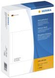 Herma 4332 Adress-Etiketten - einzeln mit Abziehlasche, 148 x 105 mm, selbstklebend, 500 Stück