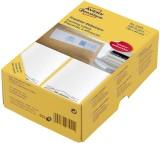 Avery Zweckform® 3439 Frankier-Etiketten - einzeln mit Abziehlasche, 130 x 40 mm, 500 Stück weiß