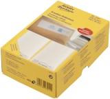 Avery Zweckform® 3442 Frankier-Etiketten - doppelt, 138 x 48 mm, 500 Stück Frankieretiketten weiß