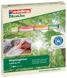 Edding 24 Textmarker Highlighter EcoLine - nachfüllbar, sortiert Textmarker sortiert 2 - 5 mm
