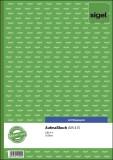 SIGEL Aufmaßbuch - A4, BL, 50 Blatt Aufmaßbuch A4 BL = Blaupapier 50 Blatt