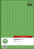 SIGEL Bautagebuch - A4, 1., 2. und 3. Blatt bedruckt, SD, MP, 3 x 40 Blatt Bautagesbericht A4