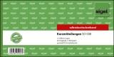 SIGEL Kurzmitteilungen - 1/3 A4 quer, 1. und 2. Blatt bedruckt, SD, MP, 2 x 40 Blatt Kurzmitteilung