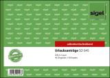 SIGEL Urlaubsanträge - A5 quer, 1. und 2. Blatt bedruckt, SD, MP, 2 x 40 Blatt Urlaubsmeldung