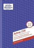 Avery Zweckform® 1726 Auftrag, DIN A5, selbstdurchschreibend, 3 x 40 Blatt, weiß, gelb, rosa