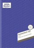 Avery Zweckform® 1101 Inventurbuch, DIN A4, vorgelocht, 50 Blatt, weiß Inventurbuch weiß 50 Blatt