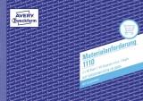 Avery Zweckform® 1110 Materialanforderung, DIN A5, vorgelocht, 2 x 50 Blatt, weiß, gelb weiß,gelb